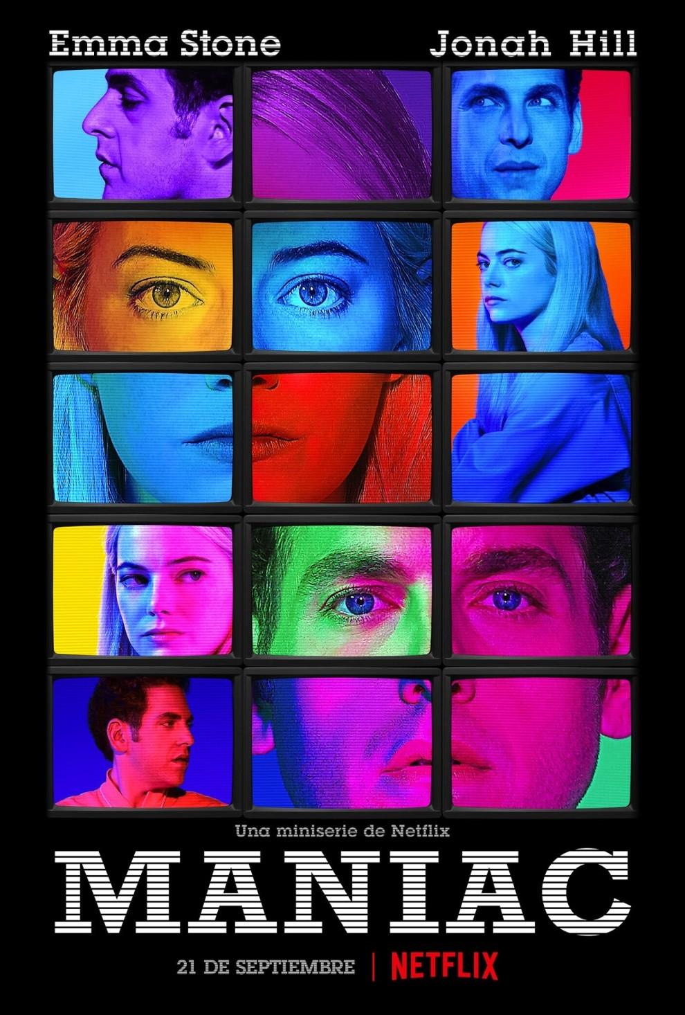 Poster de Maniac la nueva serie de Netflix