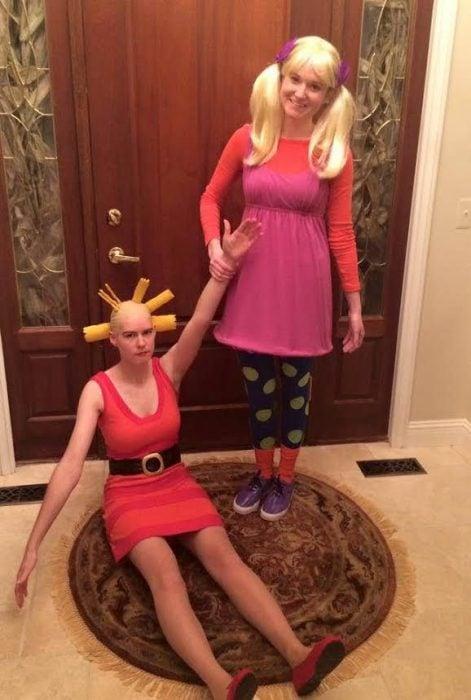 Disfraces de caricaturas noventeras para este halloween