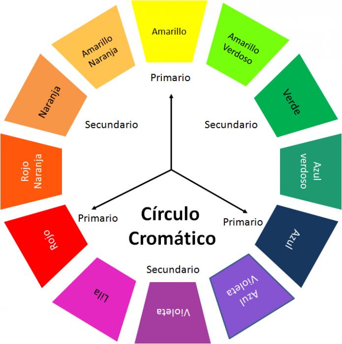 circulo hecho de colores para combinar