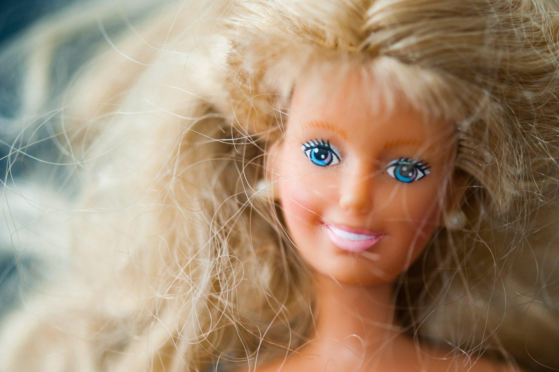 Barbie desgreñada