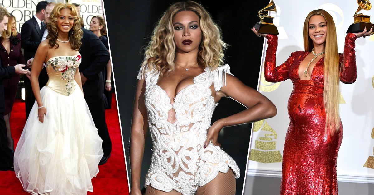 Beyoncé está de fiesta y así celebramos su evolución de estilo