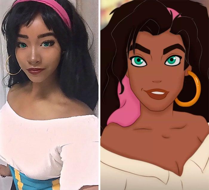 Unique Sora chica que puede convertirse en cualquier cosplay