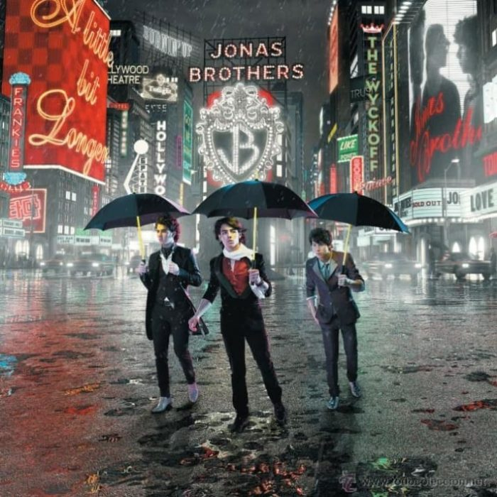 portada del tercer disco de los Jonas Brothers