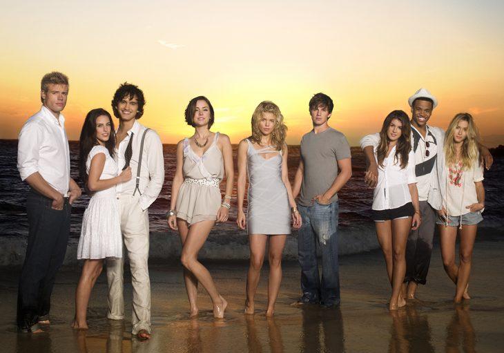 escena de Beverly Hills 90210