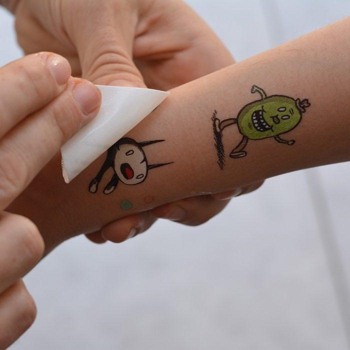 tatuajes de agua