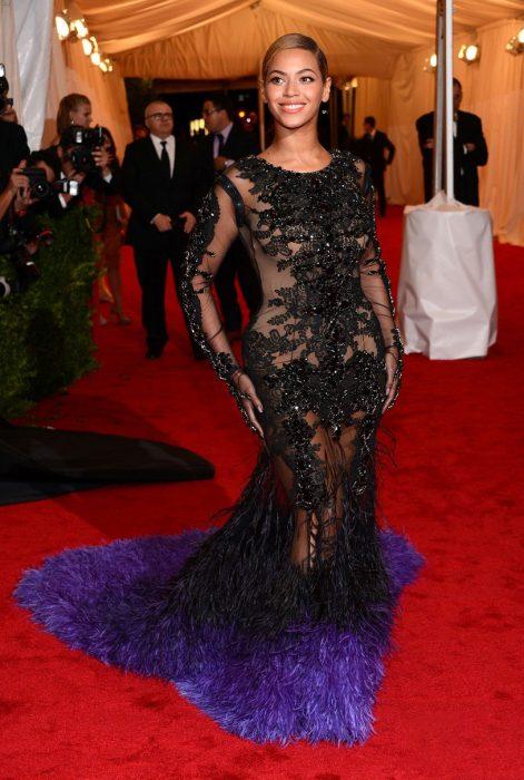 Beyonce en los met gala 2012
