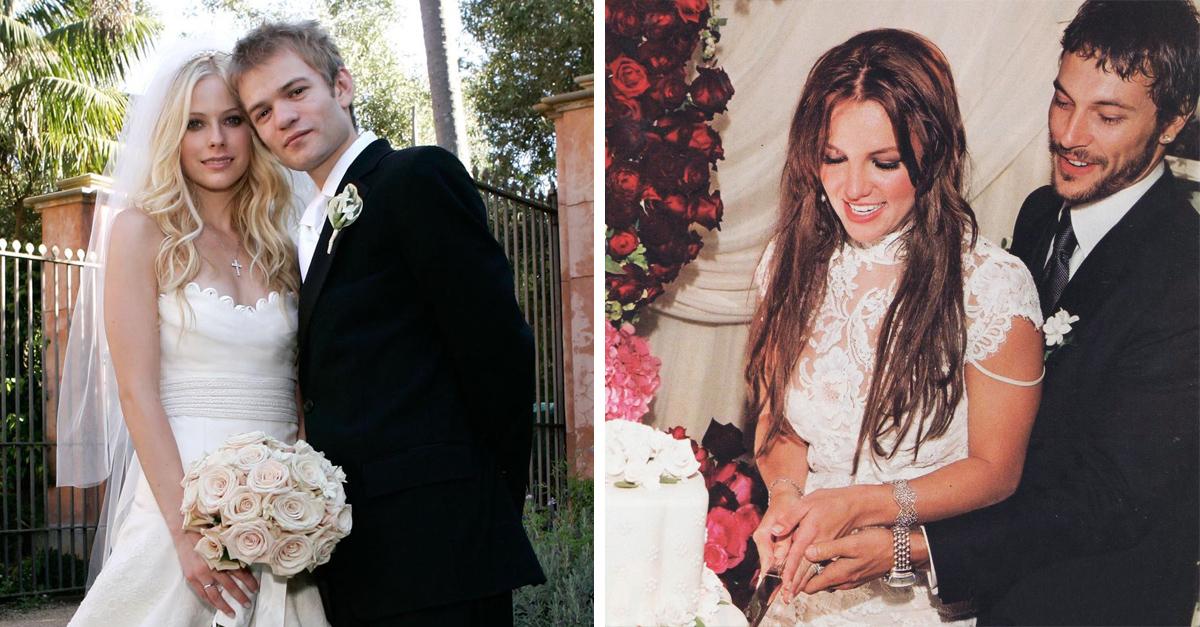 15 Celebridades que se casaron demasiado jóvenes y no lo sabías