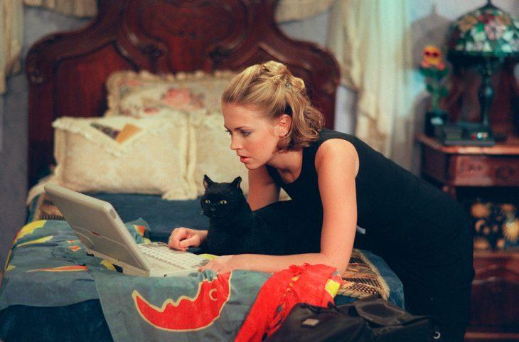 Escena de Sabrina la bruja adolescente