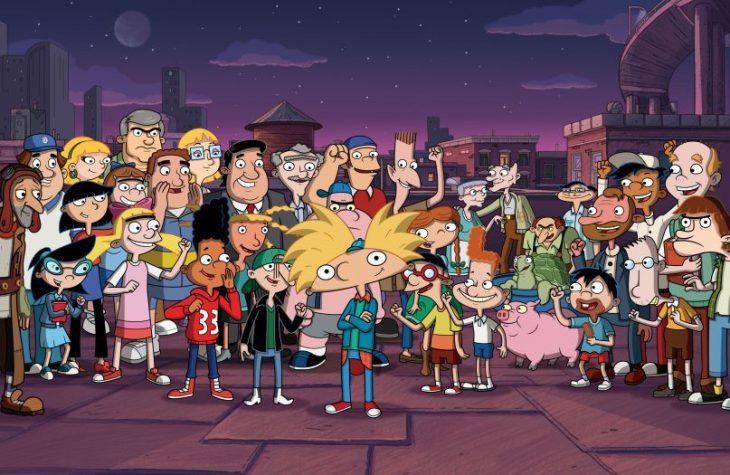escena de Hey Arnold!