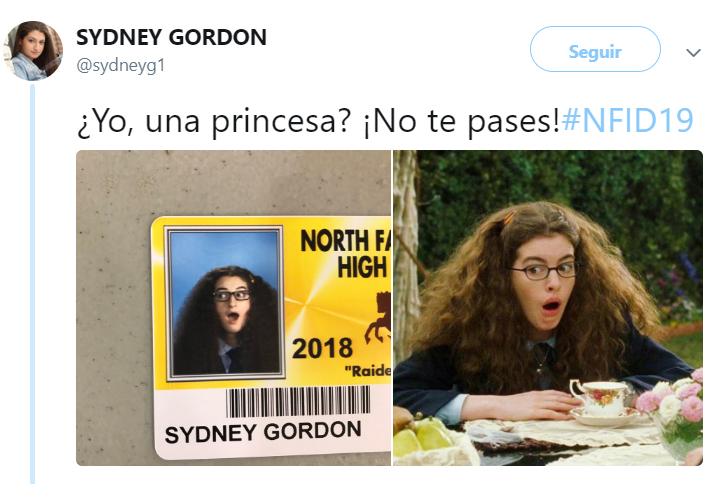 Comentarios en twitter sobre las fotos del anuario de los chicos de una secundaria