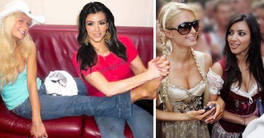 15 Imágenes memorables de cuando Kim Kardashian era asistente de Paris Hilton