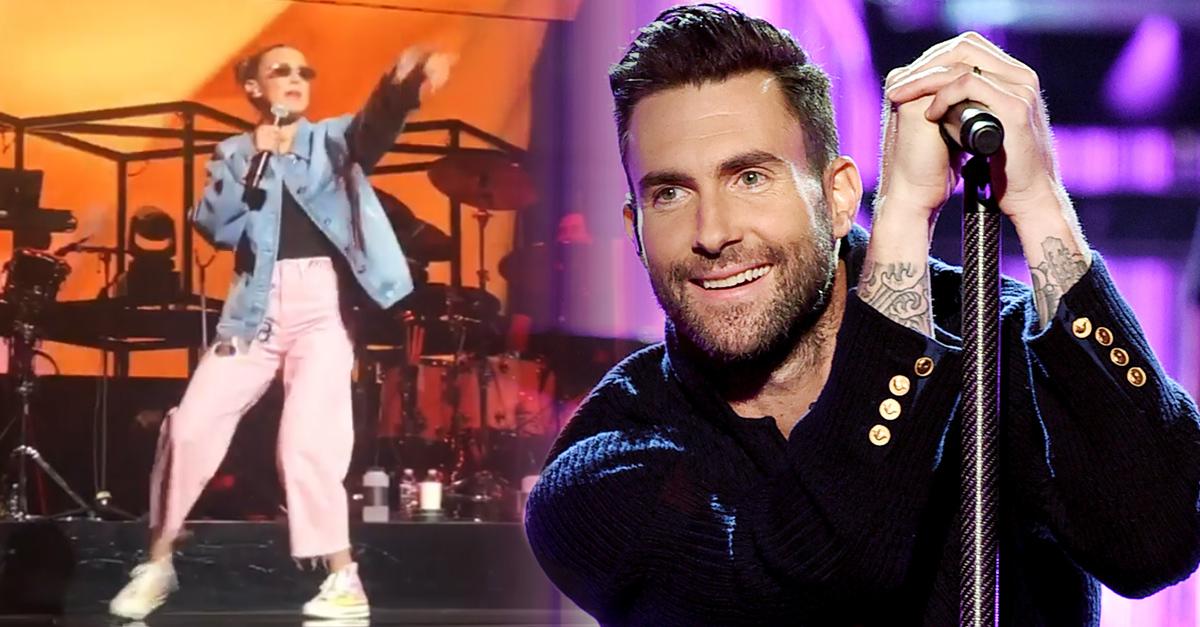 Millie Bobby Brown rapeo junto a Maroon 5 e Internet estalló en aplausos