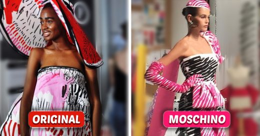 Moshcino plagia la colección de una diseñadora de Londres