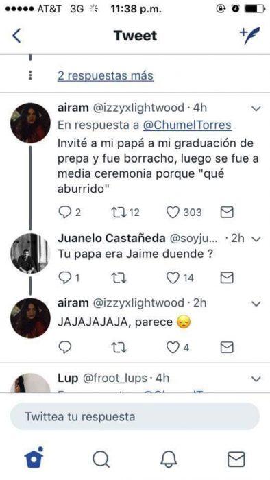 Comentarios en Twitter sobre los peores padres del año