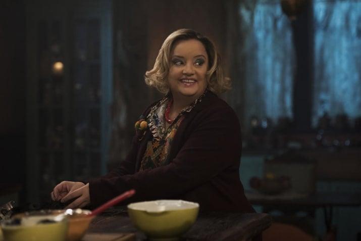 Escena de Sabrina, Netflix