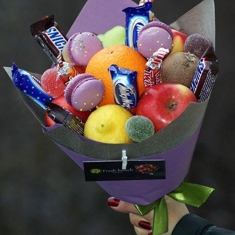 ramo con snacks