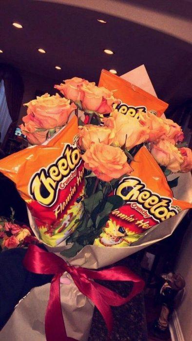 ramos con cheetos