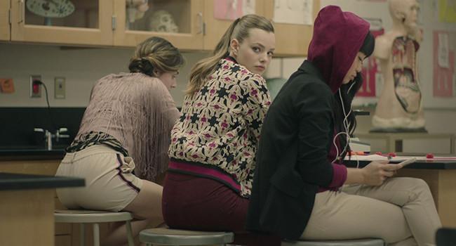 Escena de Sierra Burgess la película