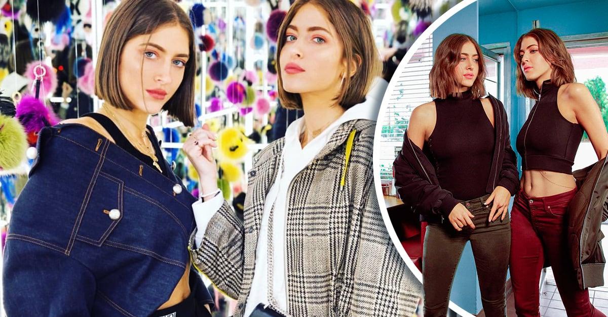 Simi y Haze, las gemelas fiesteras que se abren paso en el mundo de la moda