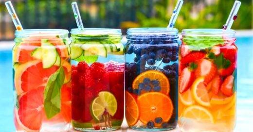 15 Deliciosas aguas detox para quemar grasa y tener la silueta que siempre has deseado