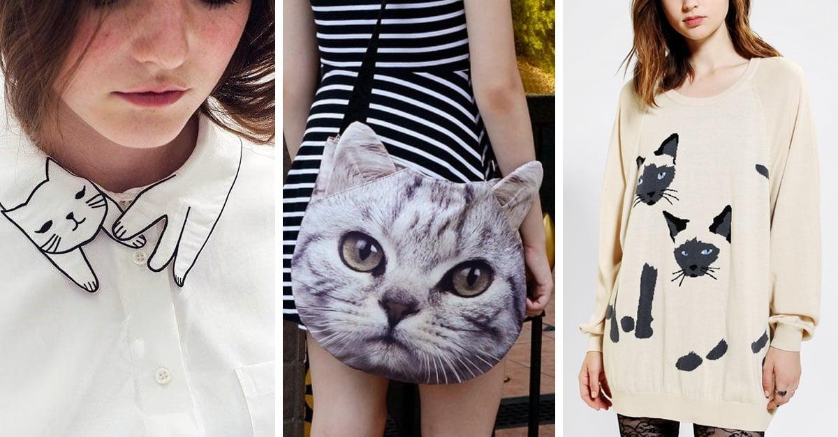 28 Prendas para llevar tu gusto por los gatos a otro nivel; ¡viste con estilo felino!