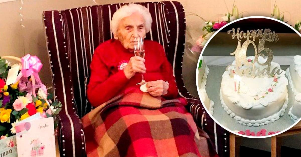 """Mujer cumplió 105 años y reveló que """"evitar a los hombres"""" ha sido la clave para su longevidad"""
