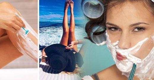 8 Formas de depilar tu cuerpo sin irritar tu piel
