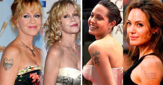 Famosos que decidieron tatuarse en honor a su pareja y hoy solo les queda el recuerdo