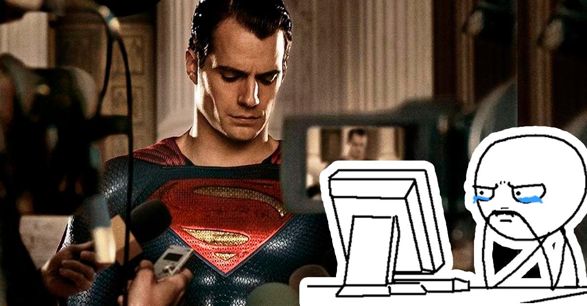 Henry Cavil dejará de ser el fantástico superhéroe de capa azul