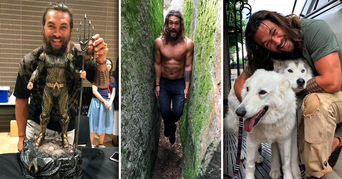 15 poderosas razones para seguir a Jason Momoa en Instagram