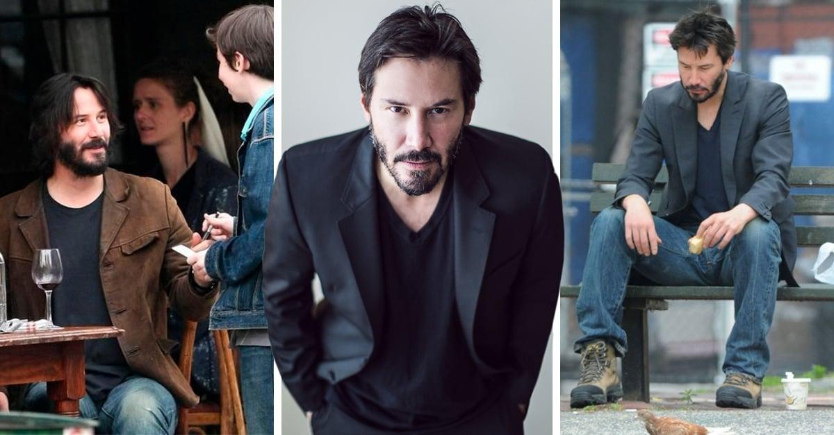 8 Historias de Keanu Reeves que lo hacen ser un excelente ser humano