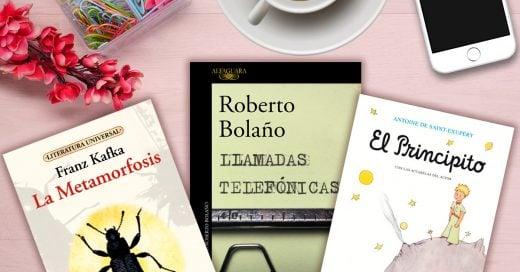 15 Libros para leer en un fin de semana; No todo es Netflix