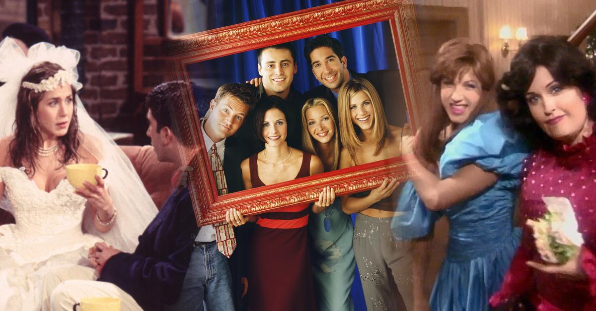 15 Escenas de Friends que jamás podremos olvidar