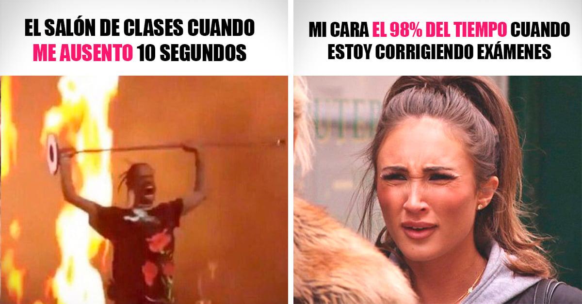 15 Memes que reflejan la vida de un profesor