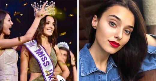 Le quitan la corona a Miss Ucrania por ser madre soltera y haberlo ocultado