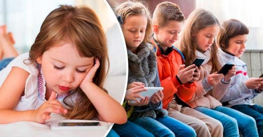 Los niños no deben usar celulares: estos son los daños que les pueden causar