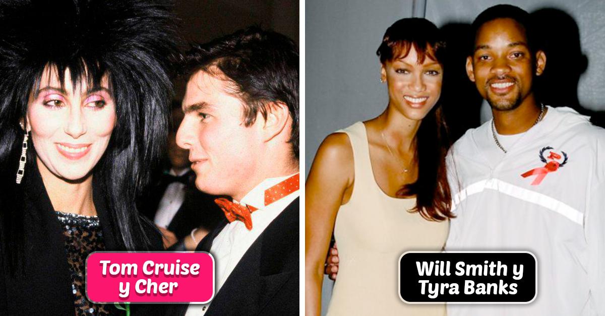 10 Parejas de famosos que anduvieron y tú ni cuenta