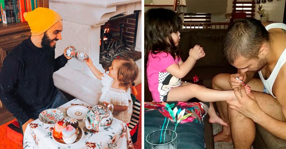 17 Fotografías que comprueban la adorable relación entre padre e hija