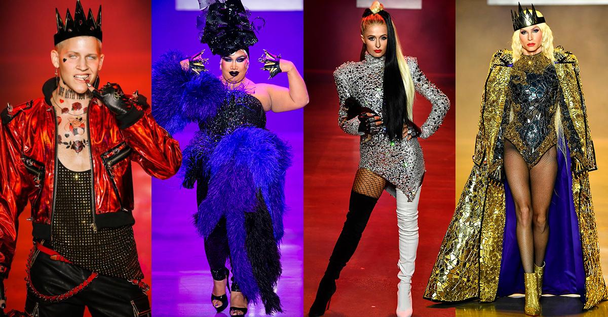 Los villanos también pueden ser fashion, los personajes malvados de Disney se apoderan de la pasarela