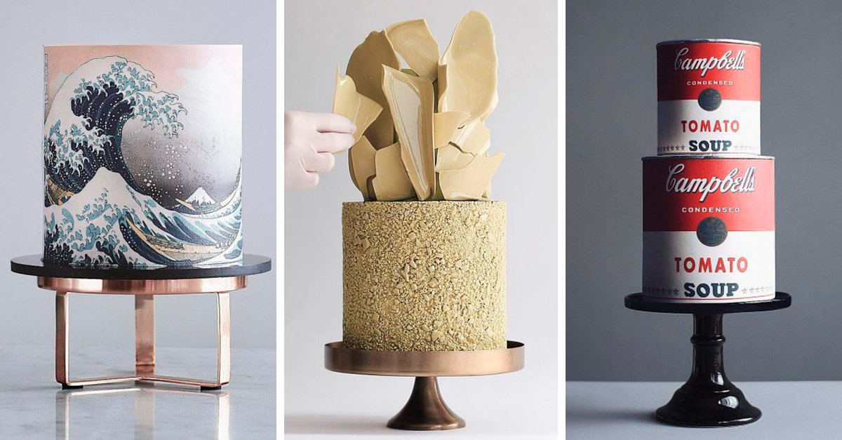 Estos pasteles parecen increíbles obras de arte