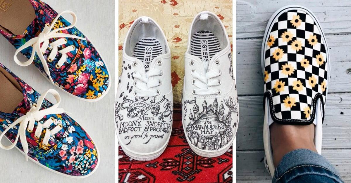 24 Ideas para decorar tu calzado y darle a tus tenis un giro genial