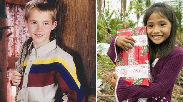 Él donó un regalo y una chica sin saber que ella sería el amor de su vida