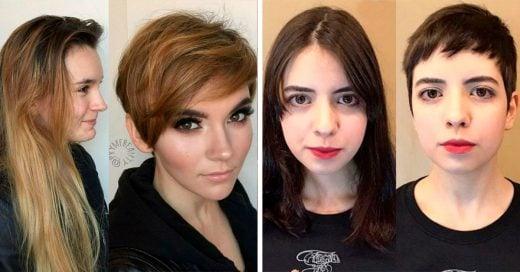 13 Mujeres que decidieron cortar su largo cabello y se ven mejor que antes