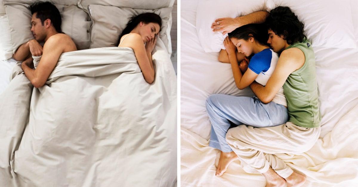 8 Maneras de dormir en pareja que revelan cuánto se aman en verdad