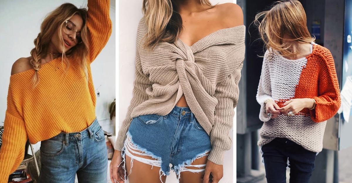 Los suéteres más sexis según tu tipo de cuerpo