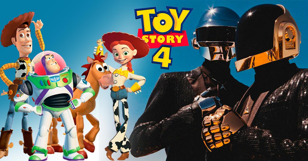 5 Datos que debes saber tras la noticia de queDaft Punk hará el 'soundtrack' de 'Toy Story 4'