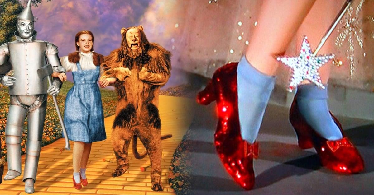 El FBI recupero los zapatos rojos de Judy Garland en 'El mago de Oz' robados hace 13 años