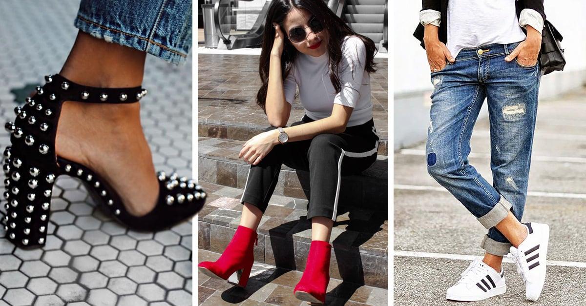 5 Tipos de zapatos ideales para una chica de pie ancho