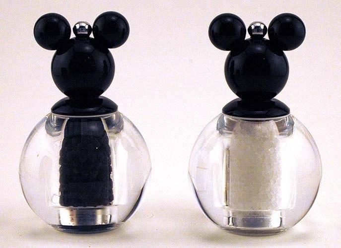 sal y pimienta en forma de micky mouse