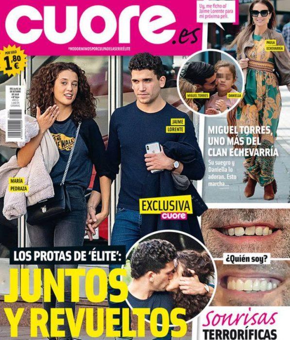 portada de revista hombre y mujer tomados de la mano cuore